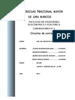 informe N° 1 electricos II
