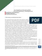 Microfísica Del Poder y Biopolitica en Foucault. Posibles Correspondencias Con Las Antropotecnicas y Heterotopias en La Hiperpolitica Sloterdijkdiana