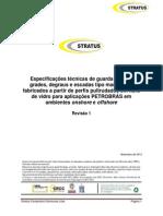 Especificações Técnicas Guarda Corpo Grade e Degrau Em Fibra de Vidro Petrobrás