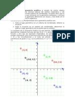 Se Conoce Como Geometría Analítica Al Estudio