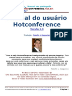 Manual Hotconference Portugues