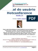 Manual Hotconference Portugues