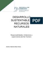 Desarrollo Sustentable y Recursos Naturales