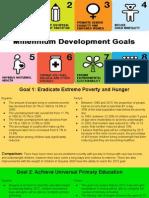 8 millennial development goals