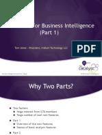 Excel 2013 for Bussines Intelligence