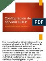 CONFIGURACIÓN DE SERVIDOR DHCP. SEGUNDO PARCIAL