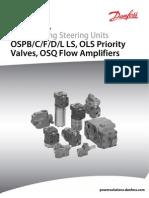 Saufer Danfoss Load Sensing Steering Units