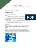 Impuestos en Guatemal1
