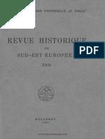 V. Laurent, Revue Historique Du Sud-Est Europeen 1946 (Pp. 233-247)