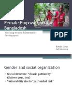 female empowerment in bangladesh