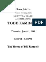 Kaminsky Samuels Invite