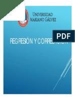Regresion y Correlacion