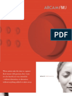 Arcam FMJ Brochure