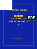 Higgins 78ft Operating Manual PT71-94