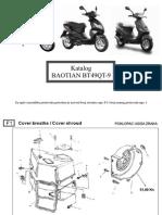 Baotian Katalog 50cc 4 Takta Gy6