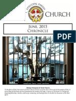 Christ Church June Chronicle 2015