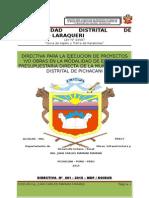 DIRECTIVA Nº 001-EJECUCION DE OBRAS POR ADMINISTRACION DIRECTA 2015.doc