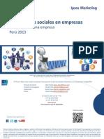 Web y Redes Sociales en Empresas 2013