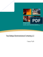 Tariq Siddique ElectroMechanical Profile v1.0