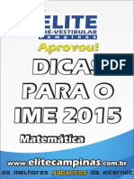 Matematica Ime 2015