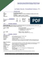 Formaldehyde Solution37