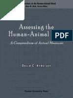 Assessing the Human-Animal Bond