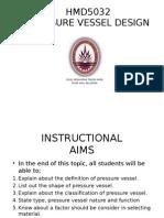 PRESSURE VESSEL DESIGN (CHP. 1)