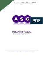 ASG Operations Manual 12.21.09
