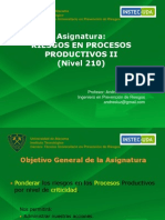 Riesgos en Procesos Productivos II Clase 1