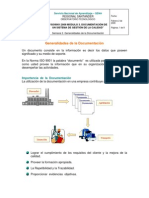 Generalidades de La Documentacion