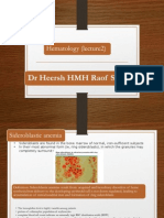 Hematology Lecture No 2