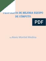 propuesta de diagnostico de equipo de computo