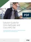 Cisco APIC Citrix NetScaler Solution Guide