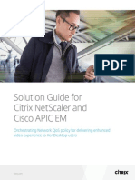 Cisco APIC Citrix NetScaler Solution Guide