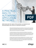 Practial Path to Automating Networks