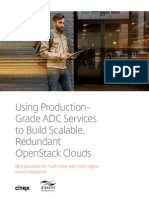 Using ADC Services to Build Openstack Clouds