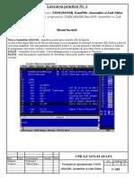 Studierea  programelor TASM (MASM),Emu8086  Ansembler si Link Editor