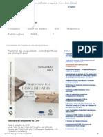 Lançamento de Trajetórias das desigualdades __ Centro de Estudos da Metrópole