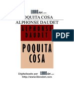 Alphonse Daudet - Poquita Cosa