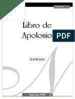 Anónimo - Libro de Apolonio