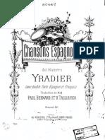 Yradier_canciones Españolas_voz y Piano
