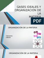 Gases Ideales y Organización de La