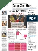 The Daily Tar Heel for Feb. 12, 2010