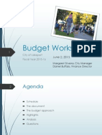060215 Lakeport City Council - Budget workshop presentation