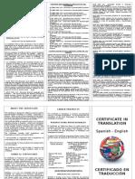 99-. Certificate Brochure 2014-2015