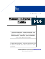 Manual Basico de Estilo - Cole
