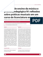 Didatica de Ensino Da Musica