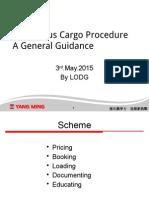 Dangerous Goods Procedure General Guidance for Agent