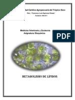 Folleto 4 Metabolismo de Lipidos