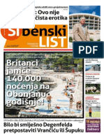 Sibenski list, 4. lipnja 2015